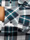 Платье-рубашка с карманами oodji #SECTION_NAME# (разноцветный), 11911004-2/45252/1279C - вид 5