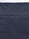 Юбка прямая жаккардовая oodji #SECTION_NAME# (синий), 21601236-13/46373/7912D - вид 4