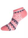 Комплект укороченных носков (6 пар) oodji #SECTION_NAME# (разноцветный), 57102433T6/47469/50 - вид 6