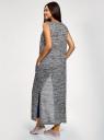 Жилет удлиненный с карманами oodji #SECTION_NAME# (серый), 18905001-1/49083/2912M - вид 3