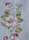 Джинсы mom fit с завышенной посадкой и вышивкой oodji #SECTION_NAME# (синий), 12105110-2/45254/7000W - вид 5
