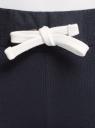 Брюки спортивные с завязками oodji для женщины (синий), 16701010-7B/46980/7900N