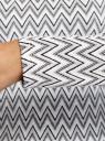 Лонгслив трикотажный из фактурной ткани oodji для женщины (белый), 14201046/49849/1229G