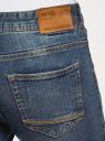 Джинсы базовые slim oodji для мужчины (синий), 6B120063M/46627/7800W