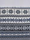 Юбка трикотажная с этническим принтом oodji #SECTION_NAME# (белый), 14101045-1/27310/1279J