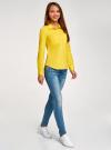 Рубашка базовая с нагрудными карманами oodji #SECTION_NAME# (желтый), 11403222B/42468/5100N - вид 6