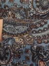Платье трикотажное с этническим принтом oodji для женщины (синий), 24001070-4/15640/2537E - вид 5