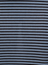 Юбка в рубчик на резинке oodji #SECTION_NAME# (синий), 14101086/46502/7029S - вид 5