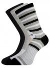 Комплект высоких носков (3 пары) oodji #SECTION_NAME# (разноцветный), 57102902T3/47469/21 - вид 2