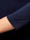 Платье с вырезом-лодочкой (комплект из 2 штук) oodji #SECTION_NAME# (синий), 14017001T2/47420/7900N - вид 5