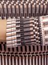 Водолазка хлопковая с рукавом 3/4 oodji для женщины (разноцветный), 15E11007B/46737N/2933O
