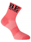 Комплект из трех пар спортивных носков oodji #SECTION_NAME# (розовый), 57102811T3/48022/4 - вид 4