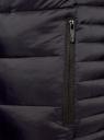 Куртка базовая с капюшоном oodji #SECTION_NAME# (синий), 1B112008M/25278N/7900N - вид 5