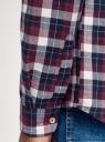 Рубашка хлопковая с длинным рукавом oodji #SECTION_NAME# (красный), 3L310197M/50176N/4979C - вид 5