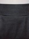 Юбка короткая с карманами oodji #SECTION_NAME# (синий), 11605056-2/22124/7937C - вид 4