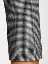 Платье приталенное с вырезом-лодочкой oodji #SECTION_NAME# (серый), 14011011-1/46979/2912J - вид 5