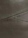 Юбка-карандаш из искусственной кожи oodji #SECTION_NAME# (зеленый), 18H01002/45059/6900N - вид 5