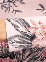 Футболка с длинным рукавом oodji для женщины (розовый), 24201007B/46147/4029F