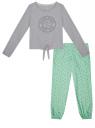 Пижама хлопковая с брюками oodji для женщины (серый), 56002222/46158/2065Z