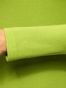 Водолазка хлопковая oodji #SECTION_NAME# (зеленый), 15E02001B/46147/6B00N - вид 5