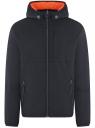 Куртка утепленная с капюшоном oodji #SECTION_NAME# (синий), 1L512022M/44334N/7900N