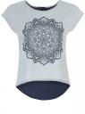 Блузка oodji для женщины (серый), 11400343-4/26388/2379Z