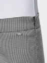 Брюки зауженные с молниями на штанинах oodji #SECTION_NAME# (серый), 11706198-1/45735/1029G - вид 5