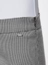 Брюки зауженные с молниями на штанинах oodji для женщины (серый), 11706198-1/45735/1029G