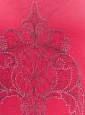 Платье макси с черепом из страз oodji для женщины (розовый), 14005134/45204/4D91P