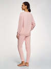 Пижама хлопковая с брюками oodji #SECTION_NAME# (розовый), 56002224/46154/4023P - вид 3