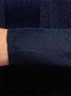 Кардиган удлиненный без застежки oodji для женщины (синий), 63212571/46372/7900N - вид 5