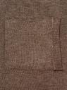 Кардиган без застежки с карманами oodji #SECTION_NAME# (коричневый), 73212397B/45904/3900M - вид 5