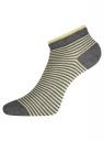 Комплект носков с двойной резинкой (6 пар) oodji для женщины (разноцветный), 57102703T6/47469/30