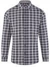 Рубашка прямого силуэта из хлопка oodji #SECTION_NAME# (разноцветный), 3L310188M/49363N/1279C