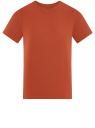 Футболка базовая oodji для мужчины (красный), 5B621002M/44135N/3100N