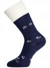 Носки махровые с отворотом oodji #SECTION_NAME# (синий), 57102449-1/46590/7912P - вид 2