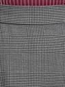 Юбка миди с асимметричным низом oodji #SECTION_NAME# (серый), 11600447-1/48496/2529C - вид 4
