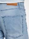 Джинсы прямого силуэта oodji для мужчины (синий), 6B180001M/50612/7000W
