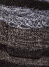 Кардиган полосатый с капюшоном oodji для женщины (серый), 63205244/46133/2520S - вид 5