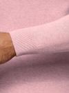 Джемпер базовый с круглым воротом oodji #SECTION_NAME# (розовый), 4B112003M/34390N/4100M - вид 5