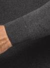 Свитер базовый из хлопка oodji #SECTION_NAME# (серый), 4B312003M-1/34390N/2502M - вид 5