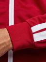 Толстовка на молнии с принтом oodji #SECTION_NAME# (красный), 5L911043M/48770N/4510P - вид 5