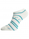 Носки укороченные (комплект из 6 пар) oodji для женщины (разноцветный), 57102462T6/47213/19BHG - вид 3
