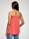 Топ в бельевом стиле с кружевной отделкой oodji для женщины (розовый), 14911004-1B/45193/4300N