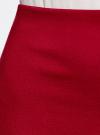 Юбка прямая базовая oodji #SECTION_NAME# (красный), 24101048B/45176/4500N - вид 5
