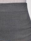 Юбка-трапеция короткая oodji #SECTION_NAME# (серый), 11600413-4/45930/1229G - вид 4