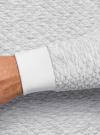 Свитшот прямого силуэта с круглым вырезом oodji #SECTION_NAME# (серый), 5L113139M-2/49020N/1200M - вид 5