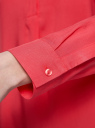 Блузка вискозная А-образного силуэта oodji #SECTION_NAME# (розовый), 21411113B/26346/4D00N - вид 5