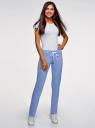 Комплект трикотажных брюк (2 пары) oodji #SECTION_NAME# (разноцветный), 16700045T2/46949/7569N - вид 6