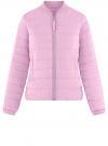 Куртка-бомбер на молнии oodji #SECTION_NAME# (фиолетовый), 10203061-1B/33445/8001N
